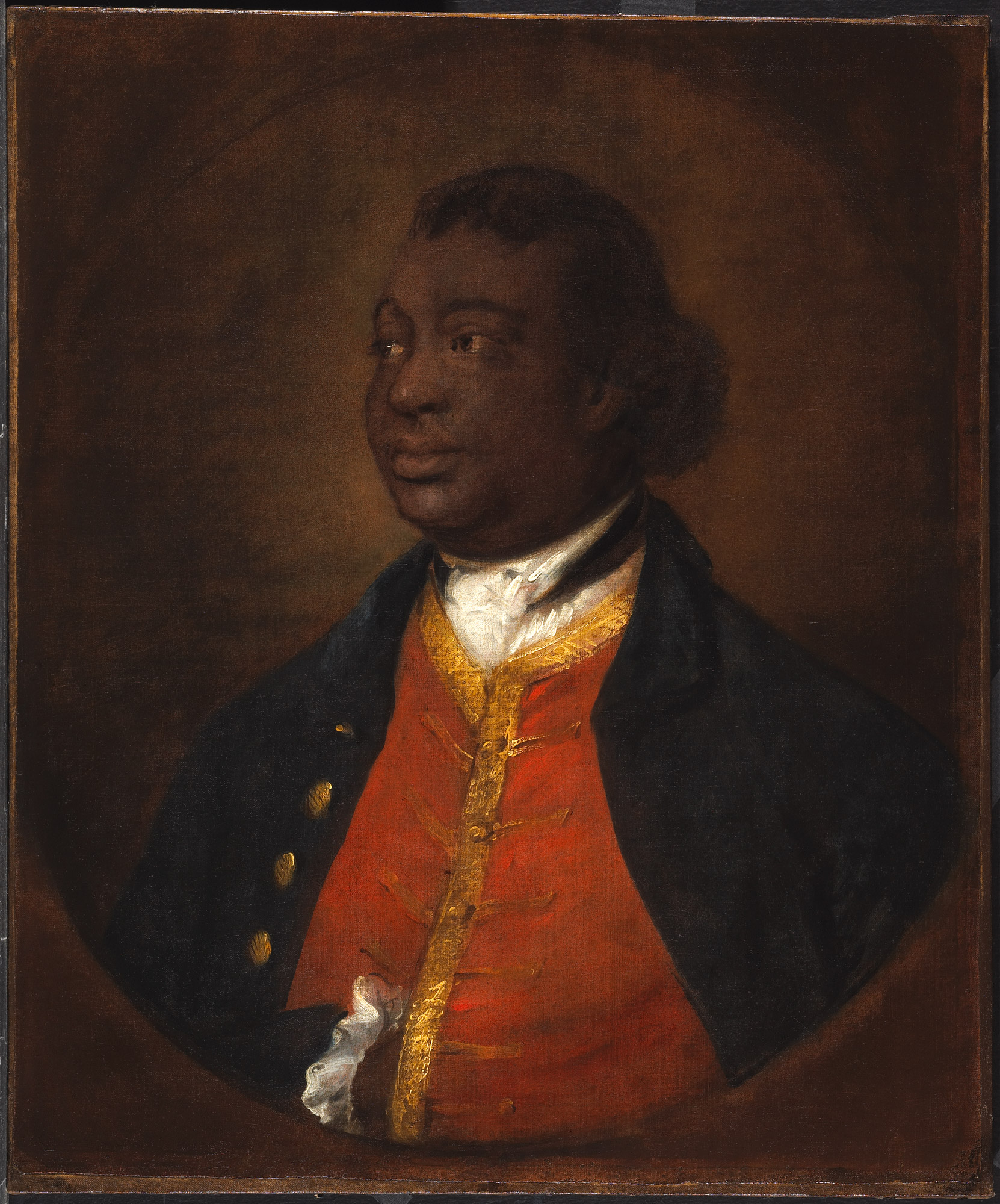 Portrait of Ignatius Sancho by Thomas Gainsborough, 1768