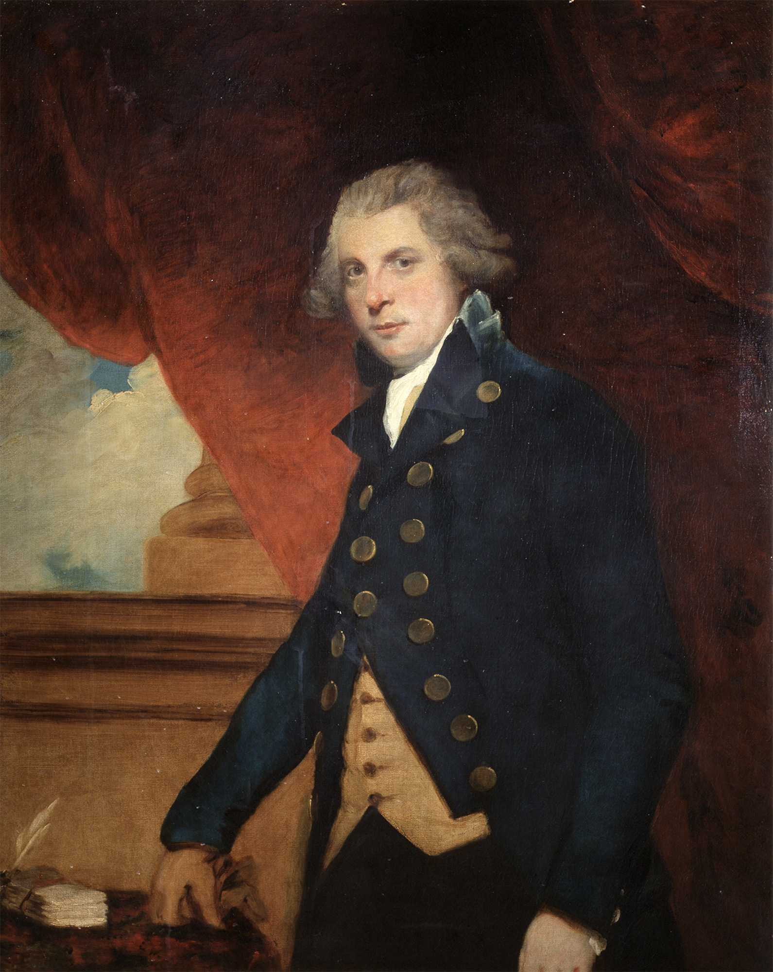 Portrait of Richard Brinsley Sheridan by Joshua Reynolds, 1788‒89