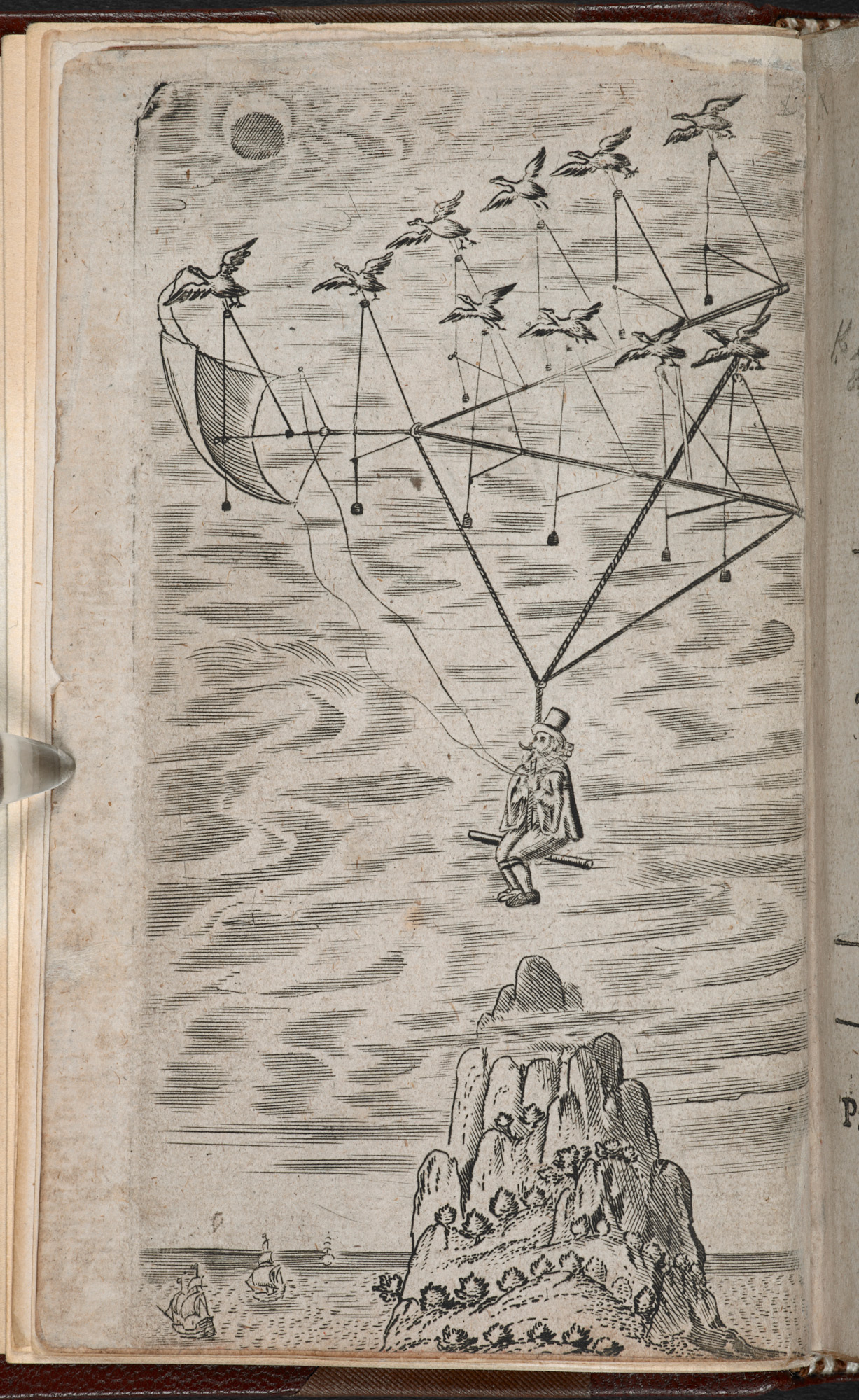 The Man In The Moone The British Library
