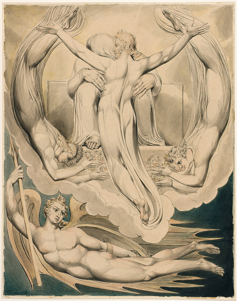 William Blake's illustrations for Paradise Lost, 1808