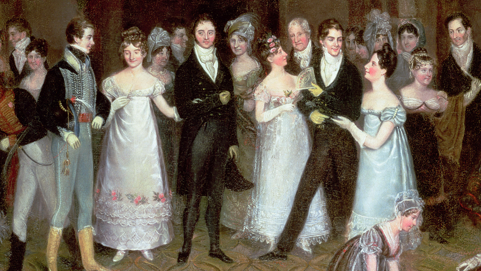 The ball in the novels of Jane Austen