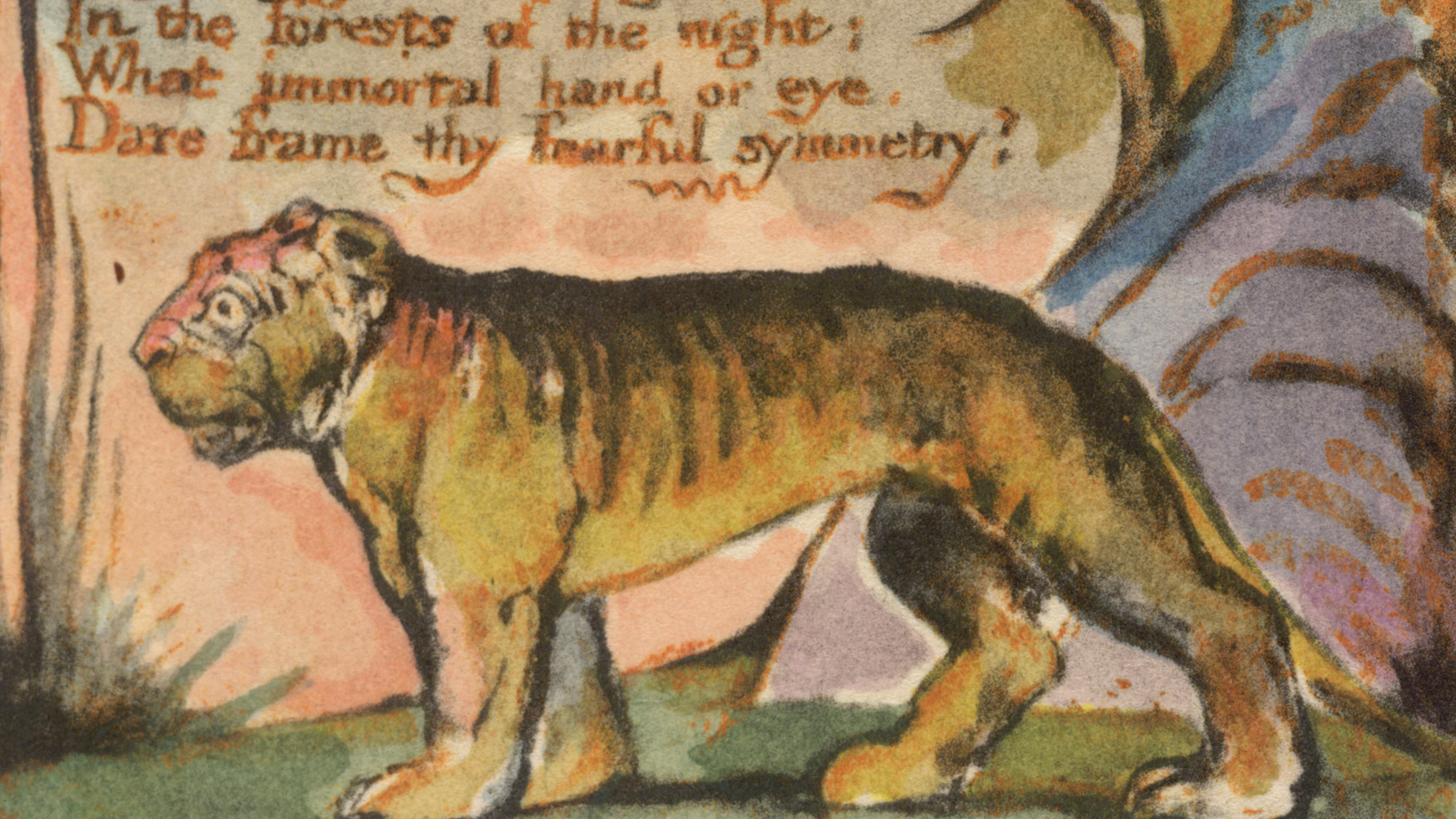 paraphrase the tyger