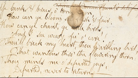 A 'cargo of Songs': Robert Burns, the Hastie manuscript and The Scots Musical Museum