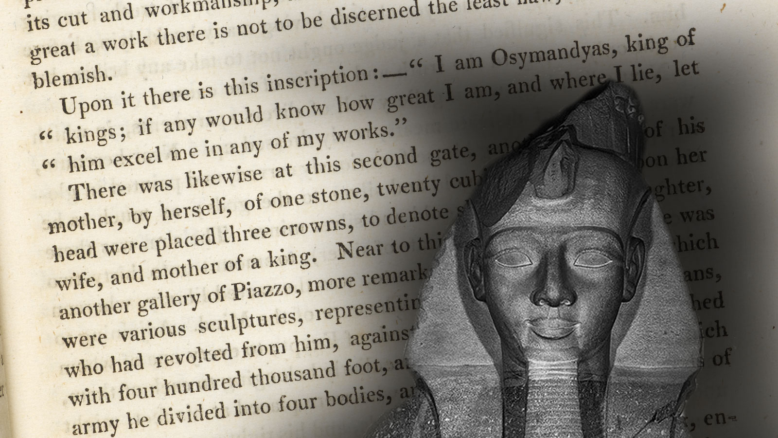 An introduction to 'Ozymandias'