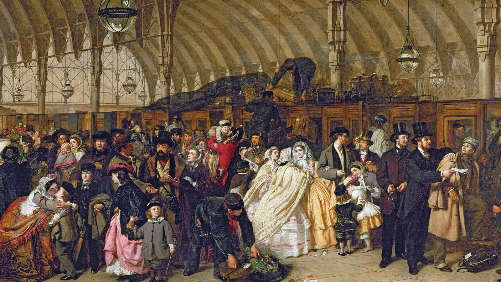 Railways in Victorian fiction