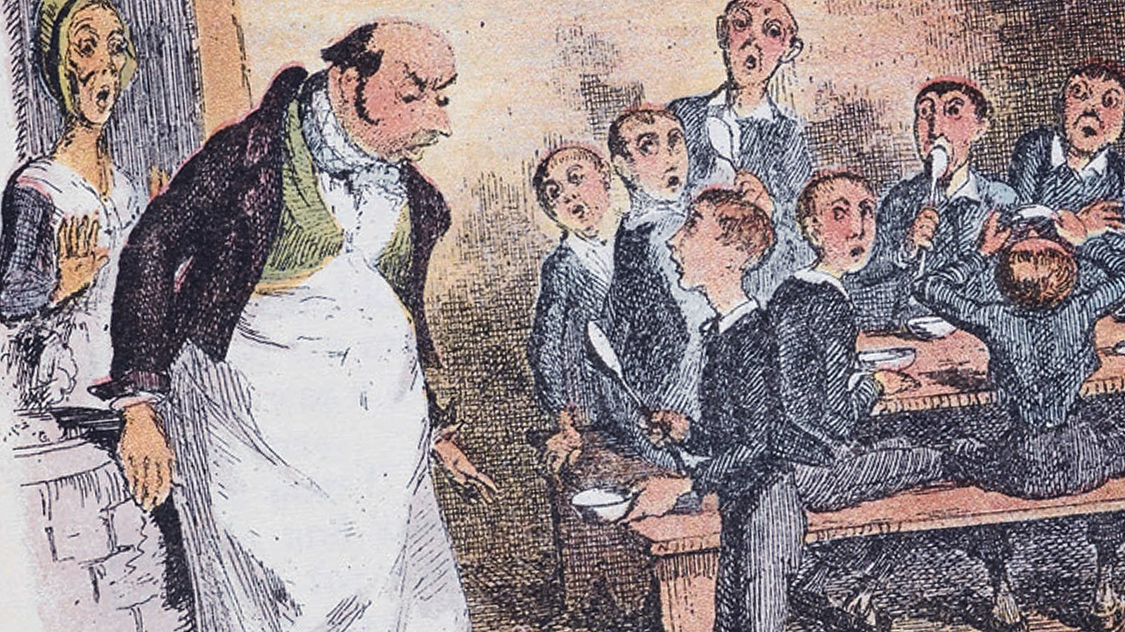 Oliver Twist and the workhouse