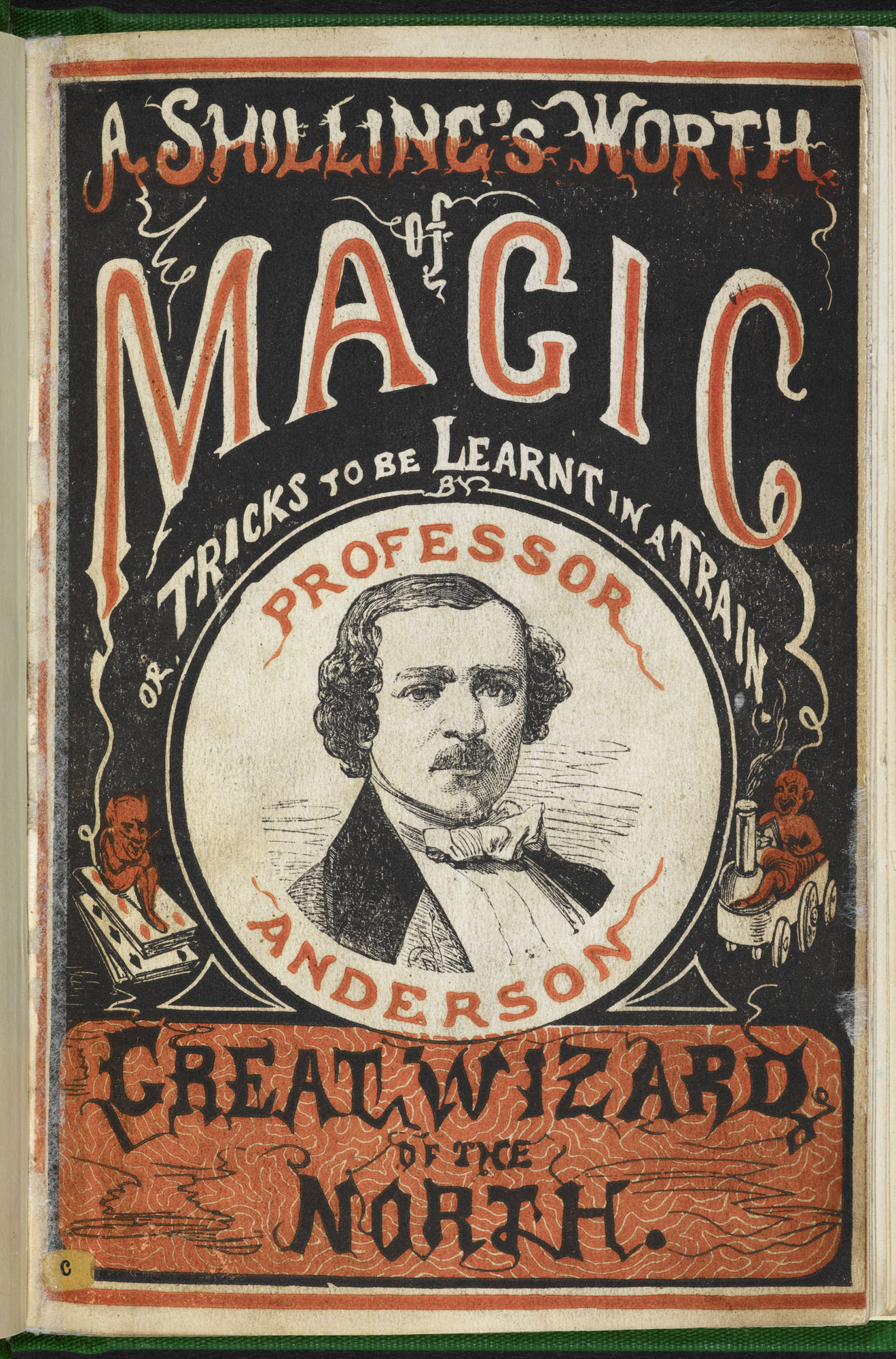 The Fashionable Science of Parlour Magic  [page: front cover]