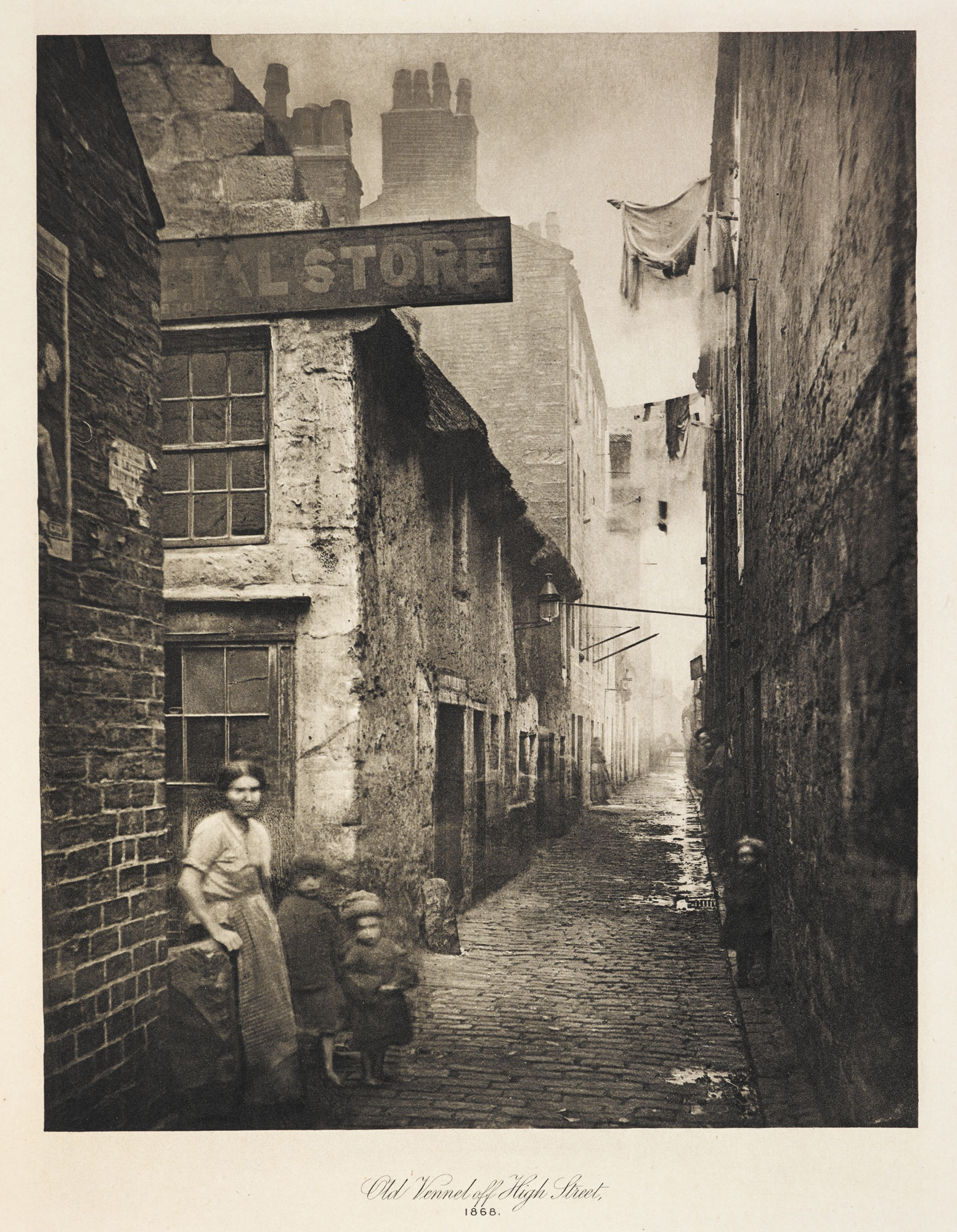 The Old Closes and Streets of Glasgow [page: [Old Vennel off High Street]]
