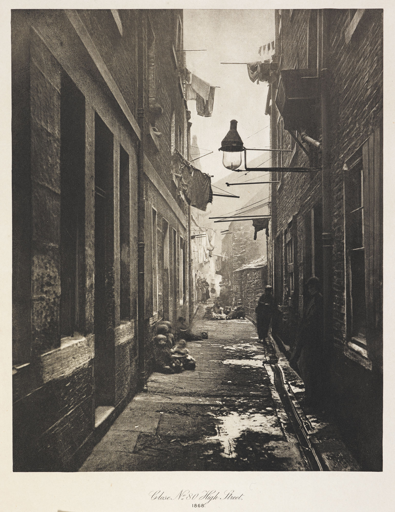 The Old Closes and Streets of Glasgow [page: [Close No. 80 High Street]]
