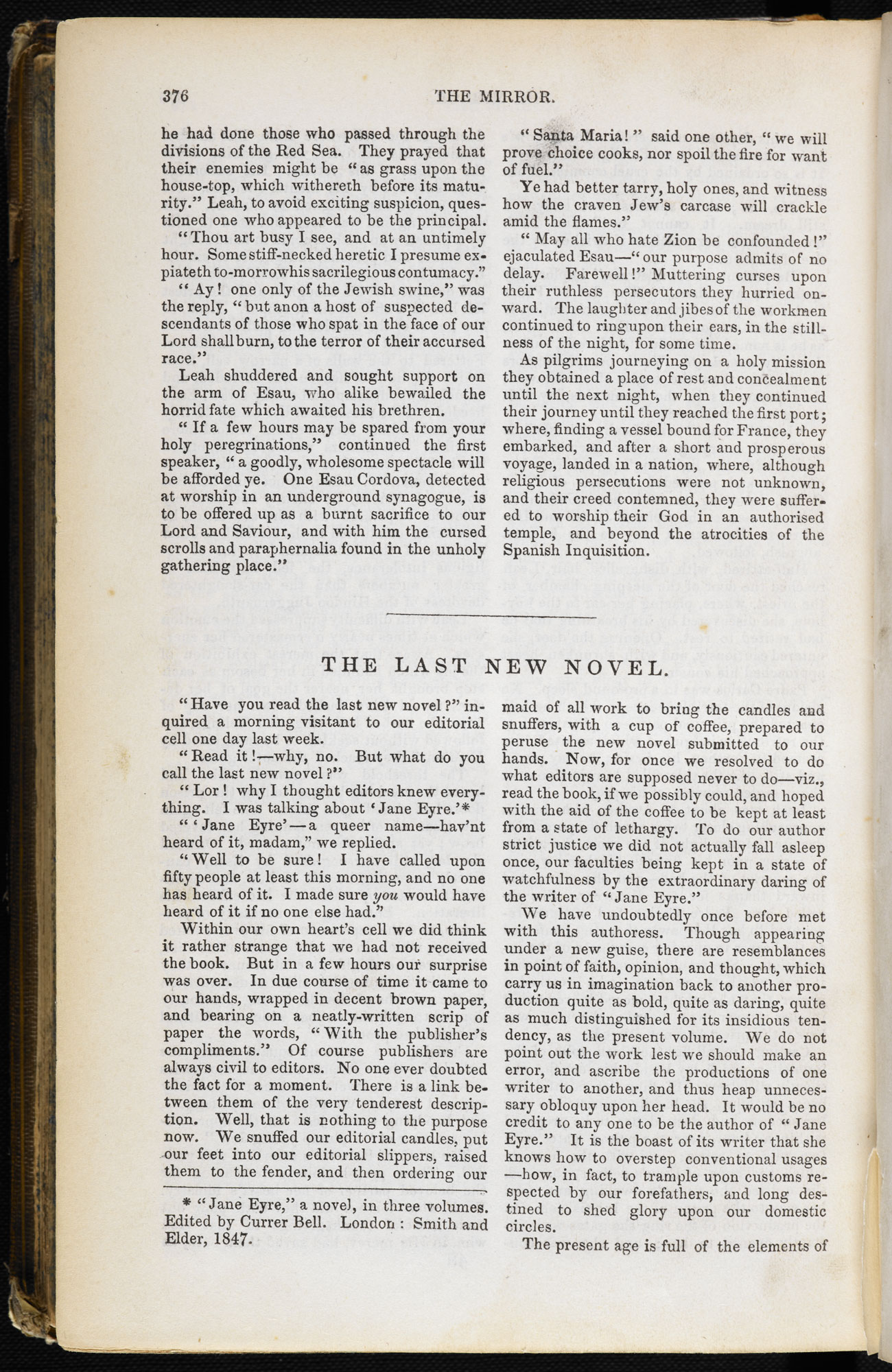 Anonymous review of Jane Eyre [page: 376]