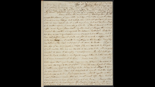 Letter from Jane Austen to her sister Cassandra, 25 April 1811 [folio: f. 7r]