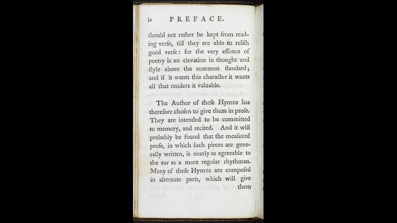 Hymns in Prose for Children [page: Preface p. iv]