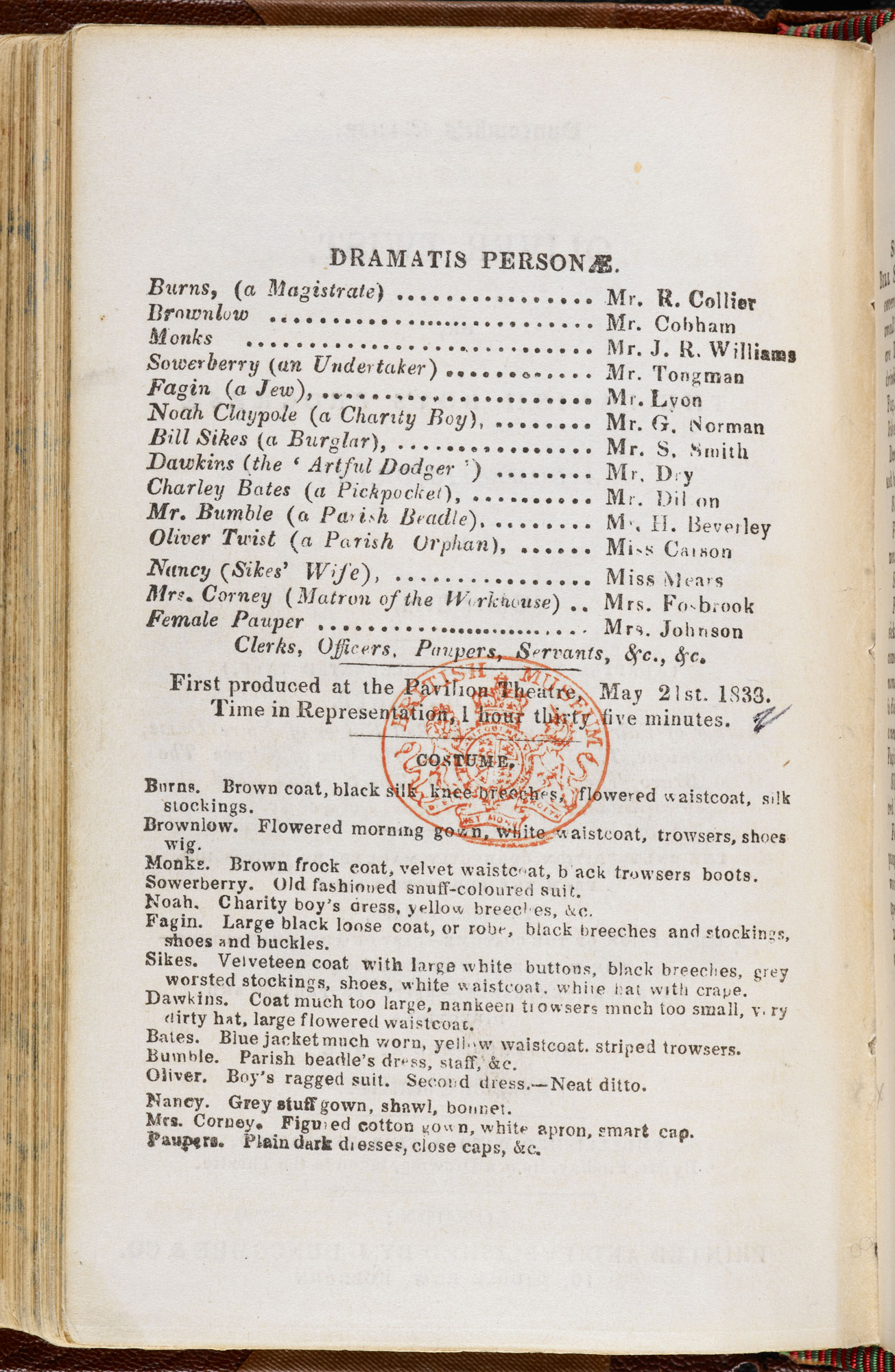 Charles Zachary Barnett's play adaptation of Oliver Twist [page: 4]