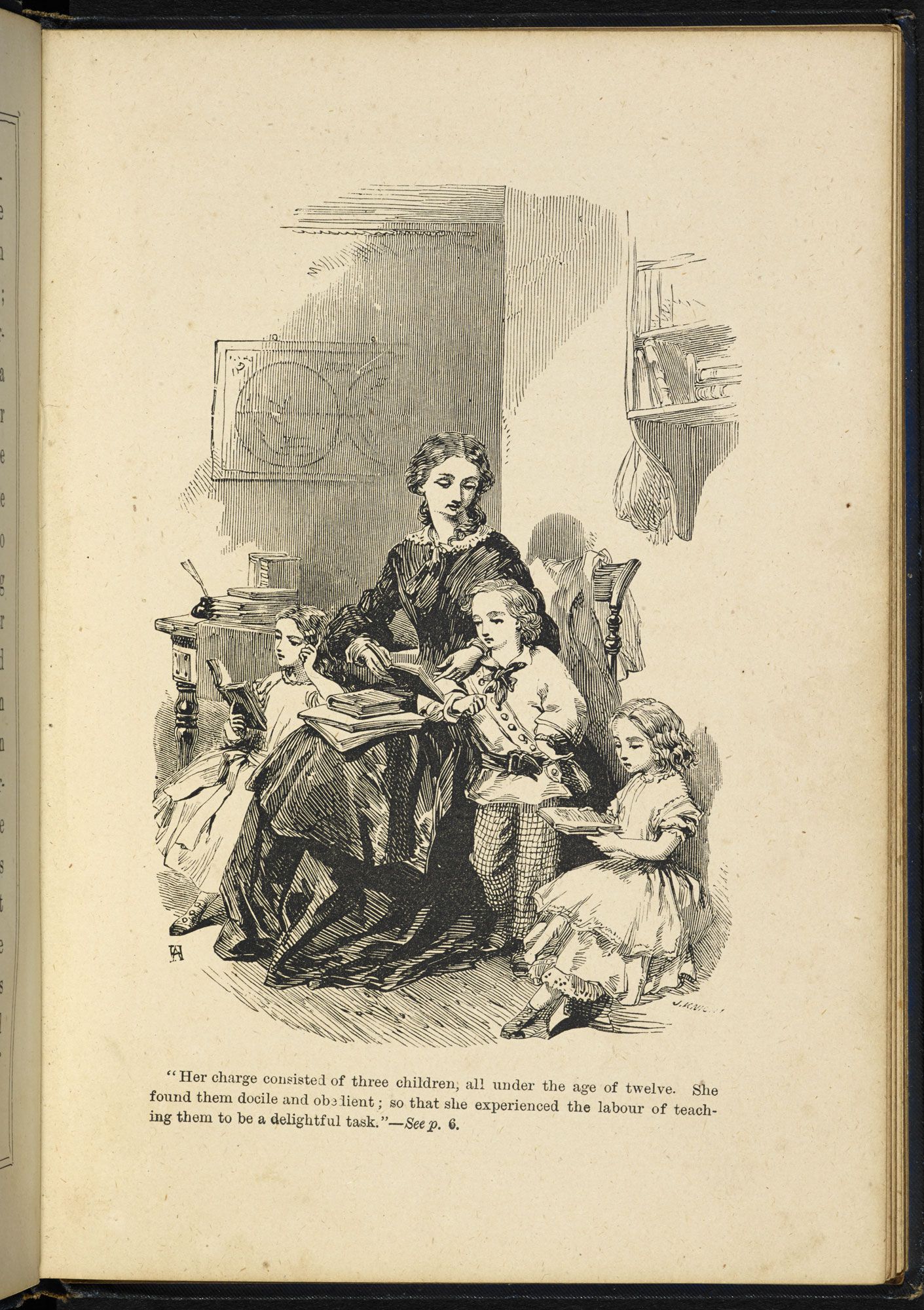 The Governess; or, the Missing Pencilcase [page: facing p. 6]