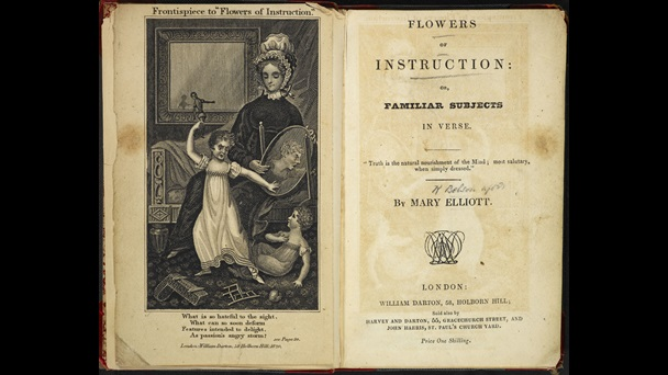Flowers of Instruction [page: frontispiece and title page]