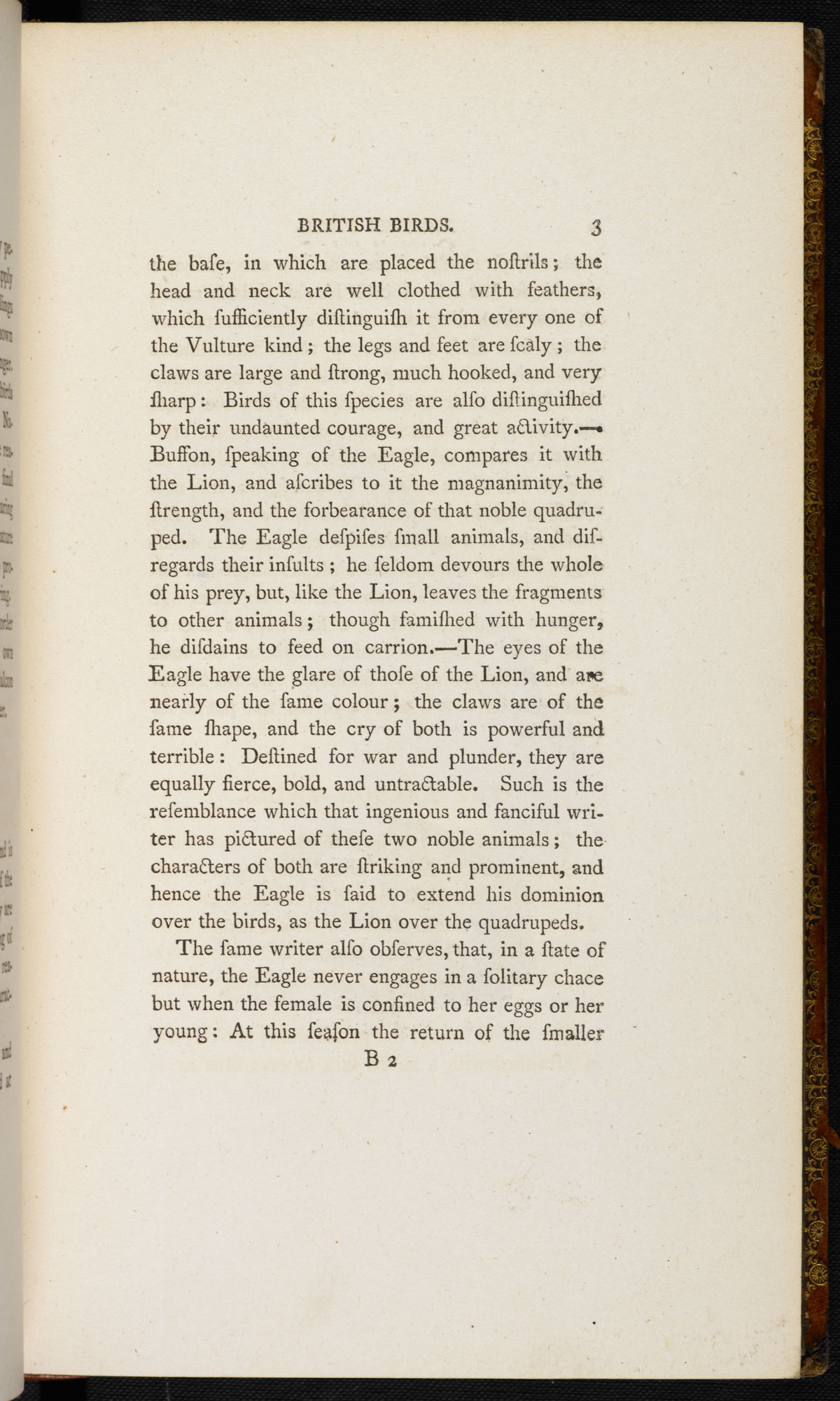 Bewick's History of British Birds [page: vol. I p. 3]