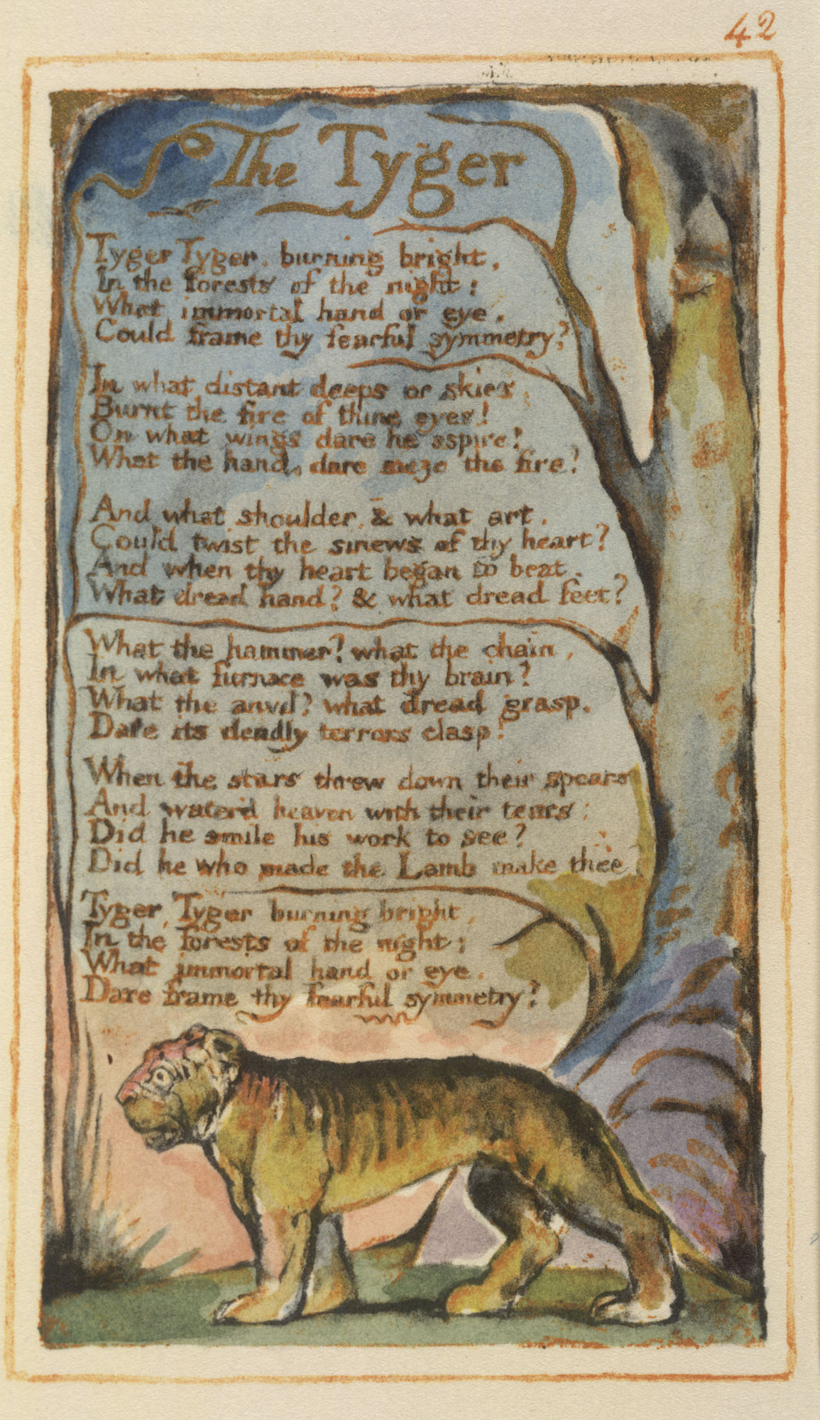 William Blake's Songs of Innocence and Experience [page: 42]