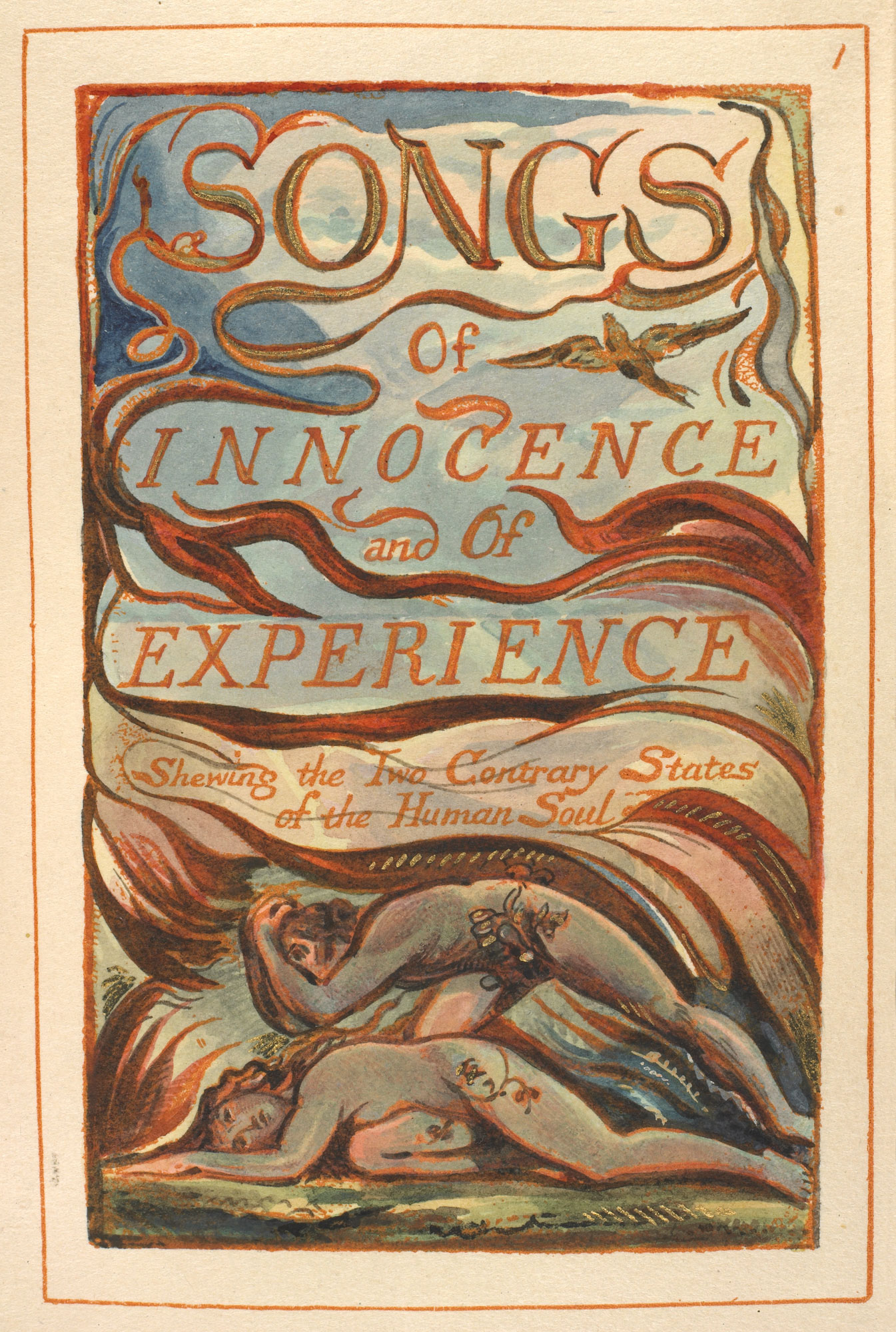 William Blake's Songs of Innocence and Experience [page: 1]