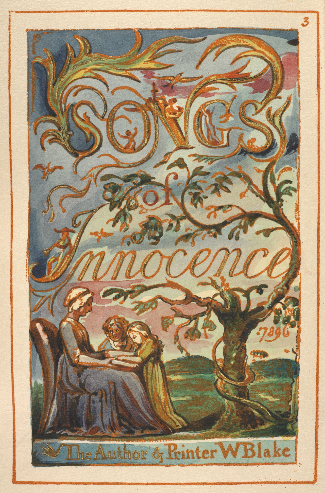 William Blake's Songs of Innocence and Experience [page: 3]