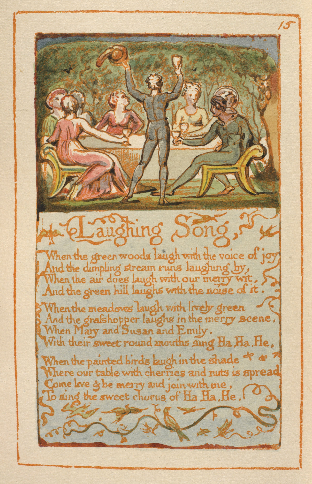 The Music Of William Blakes Poetry The British Library