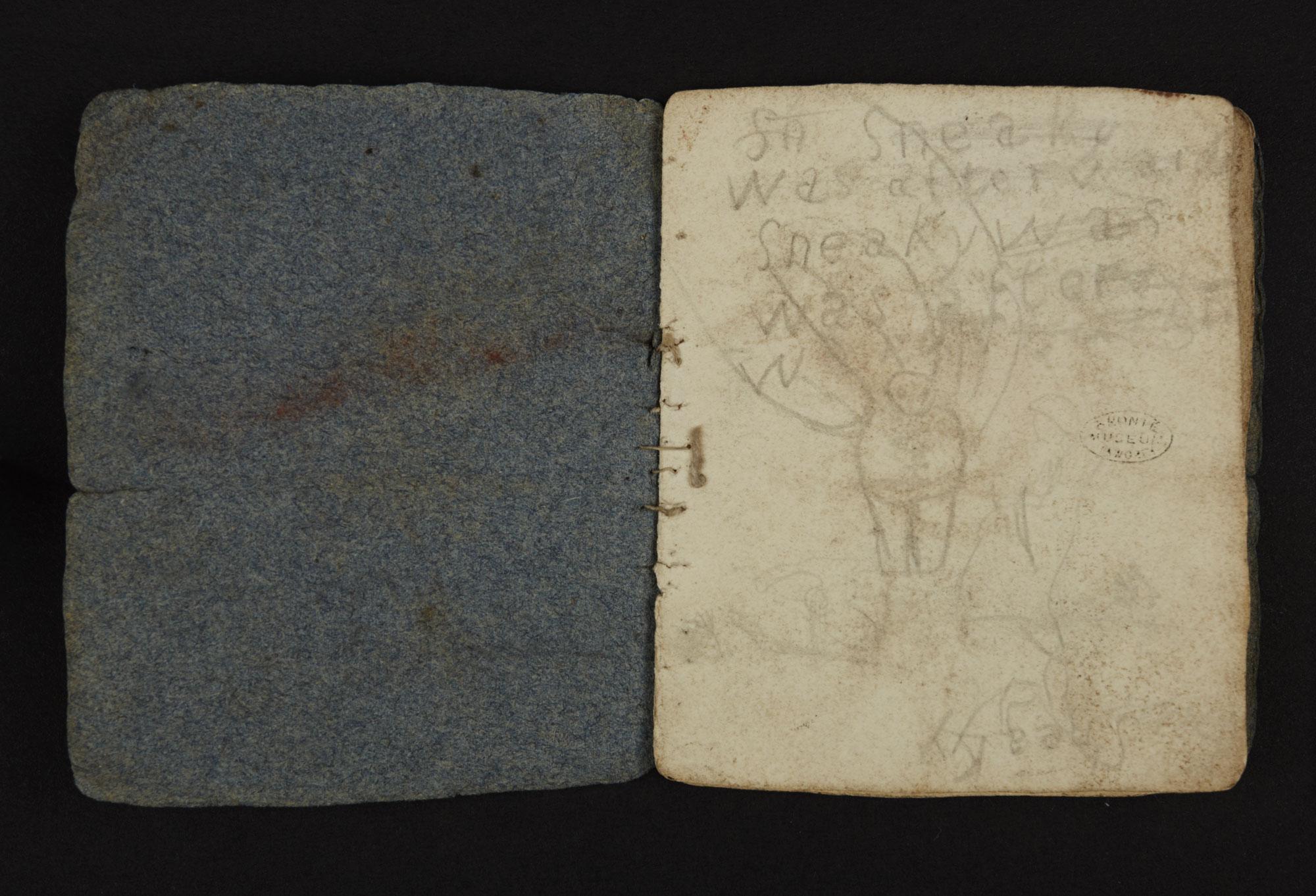 Bronte juvenilia: 'Battell Book' [folio: 0]