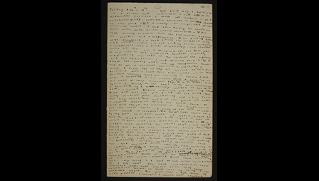 Charlotte Bronte's Journal [folio: 0]