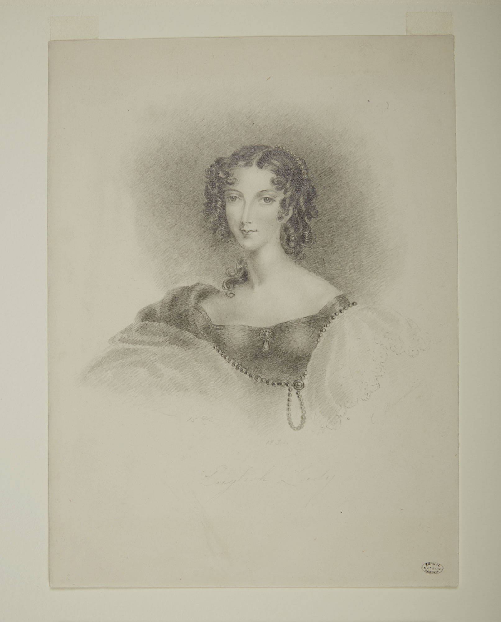 English Lady by Charlotte Bronte [folio: 0]
