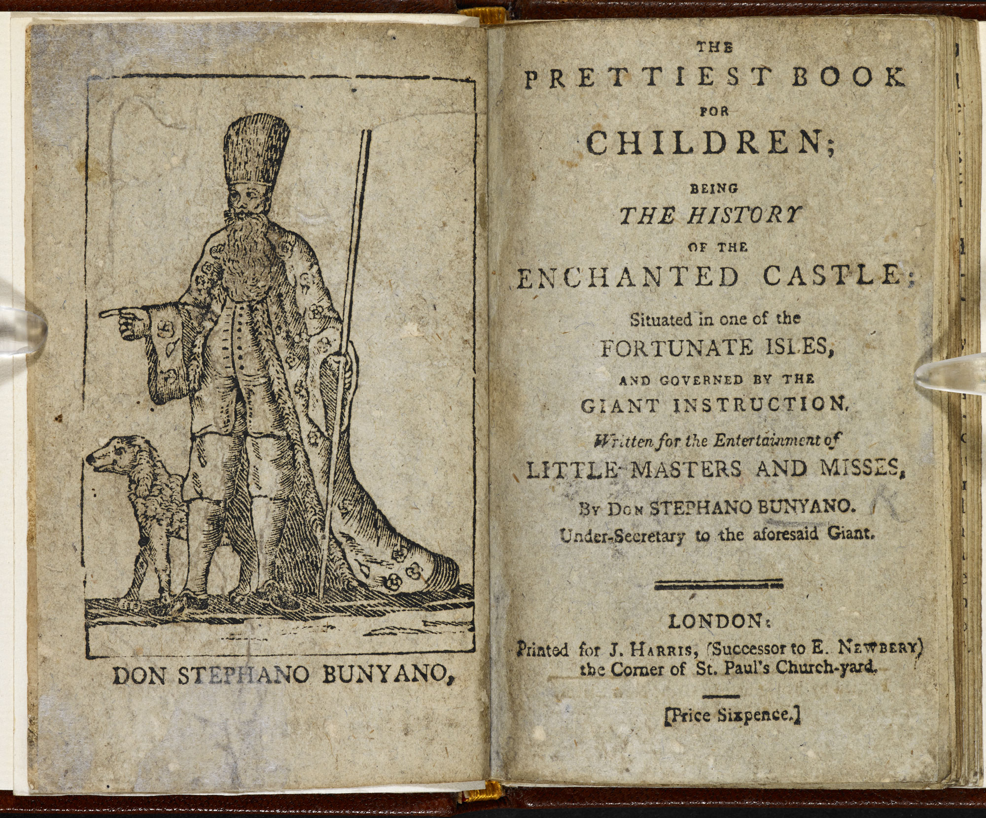 The Prettiest Book for Children [page: frontispiece and title page]