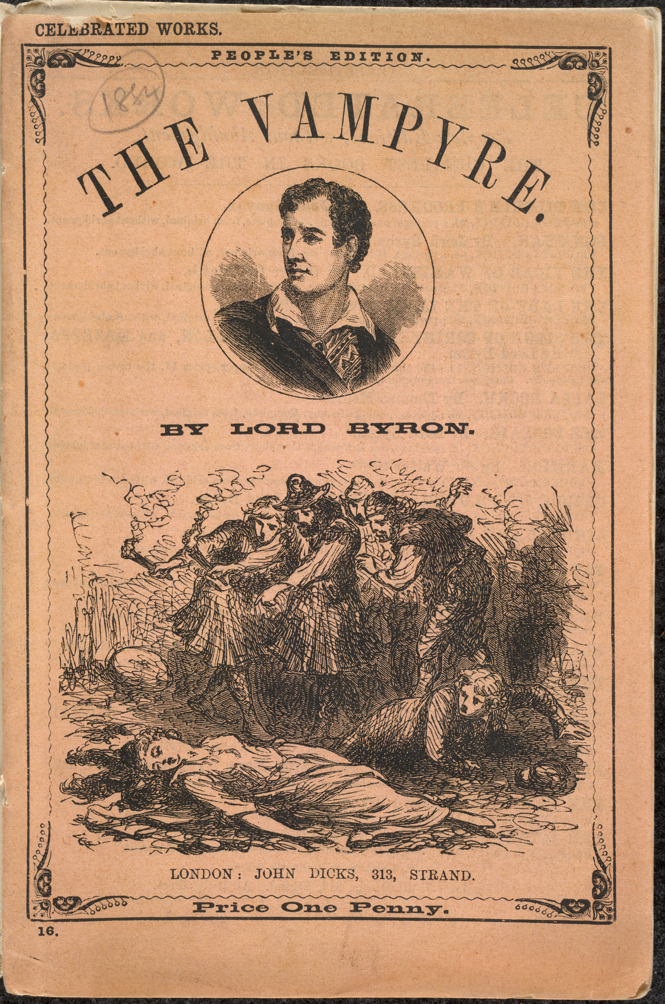 Illustrated edition of the Vampyre [page: inside front cover]