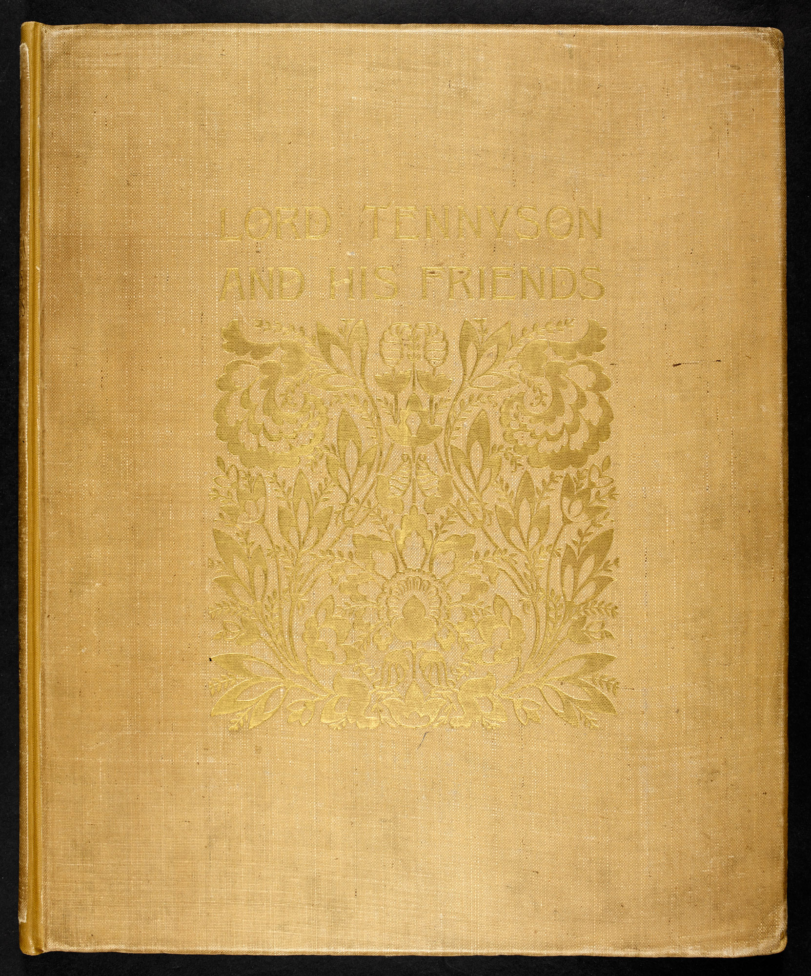 Alfred, Lord Tennyson and his friends: a series of 25 portraits, Julia Margaret Cameron [page: front cover]
