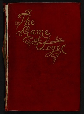 Lewis Carroll's The Game of Logic [page: front cover]