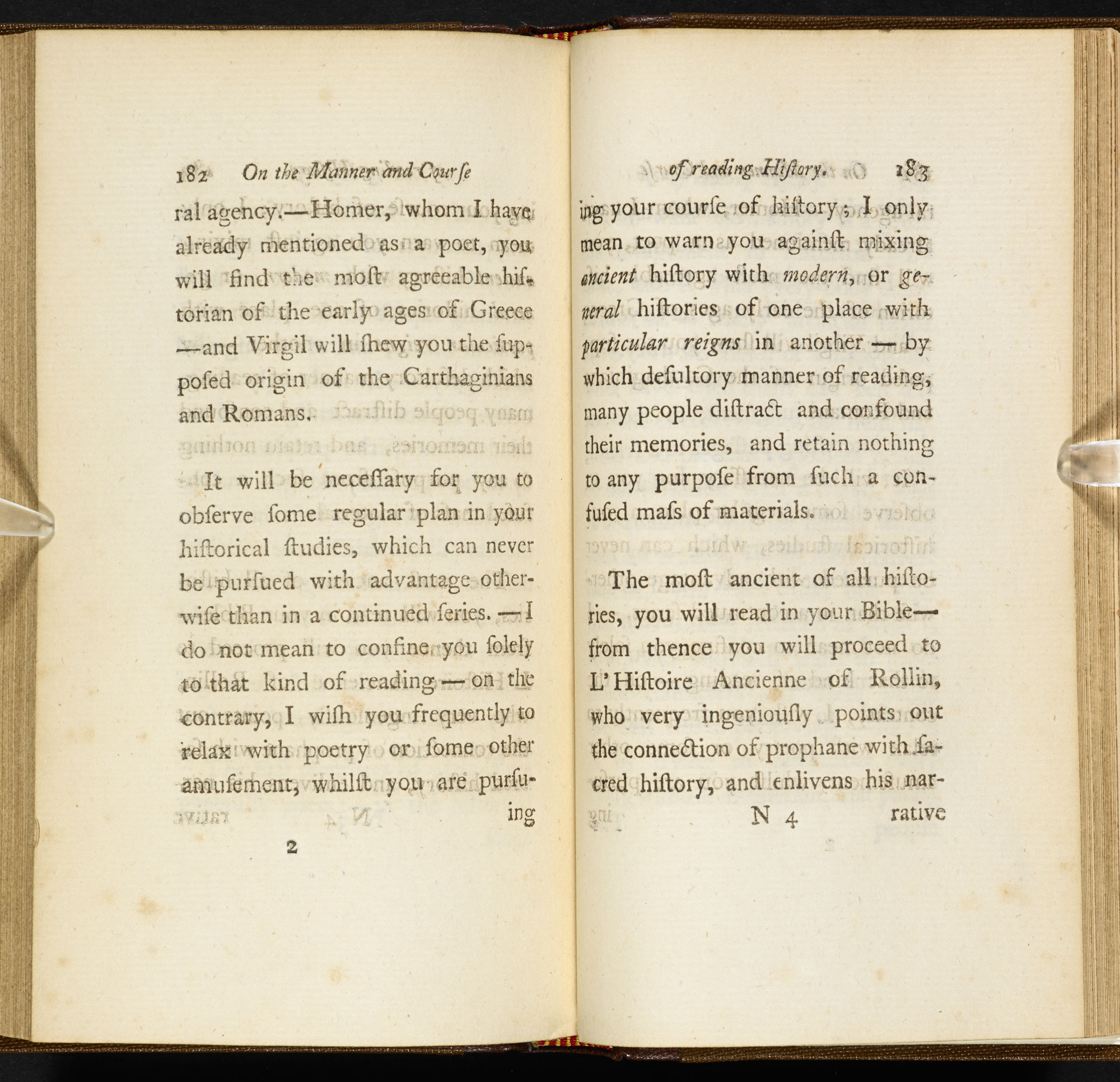Letters on the Improvement of the Mind [page: vol. II pp. 182-83]