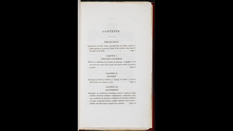The Complete Governess, a manual for governesses [page: [Contents]]