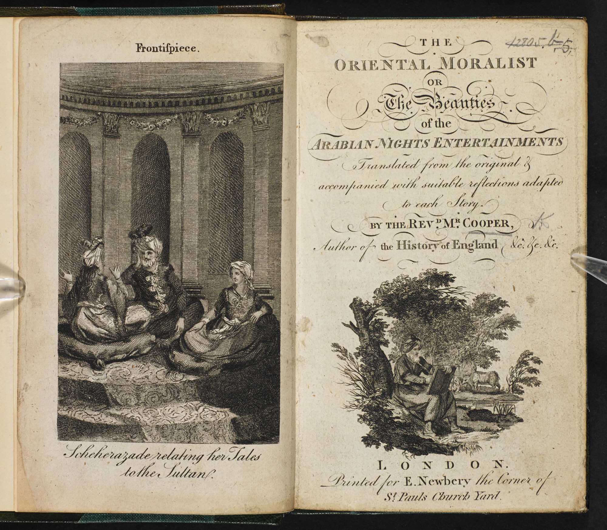 The Oriental Moralist [page: frontispiece and title page]