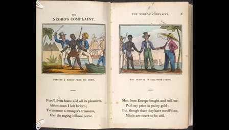 Abolitionist poetry book for children [page: 2-3]