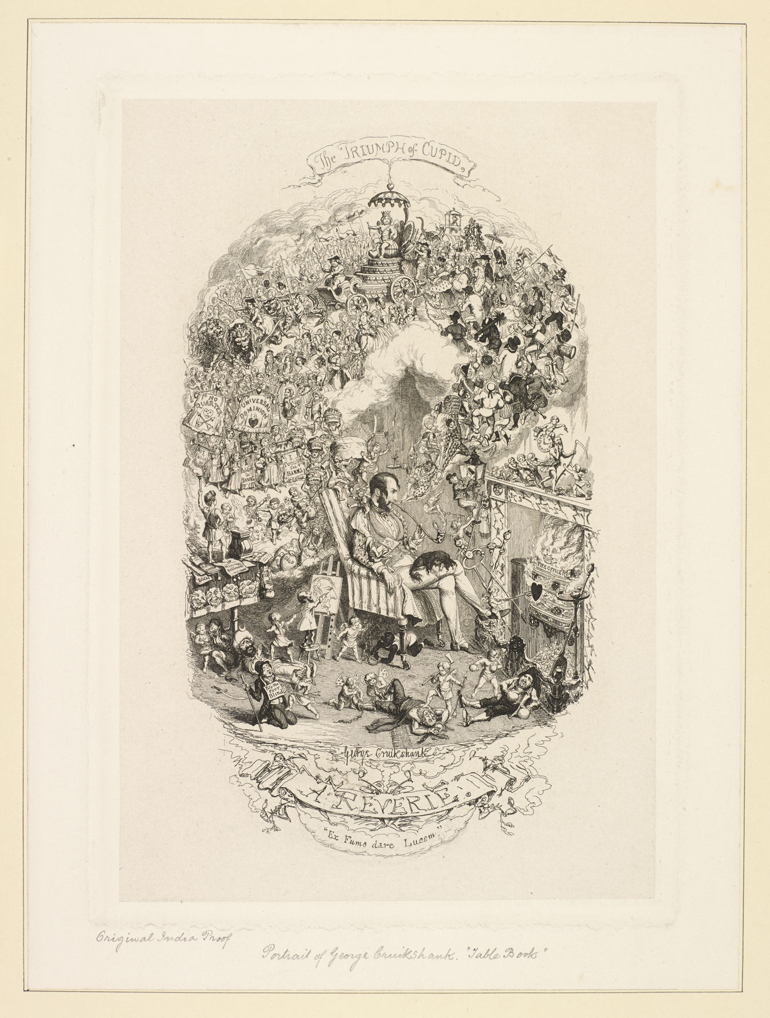 A self-portrait of George Cruikshank [page: 89]