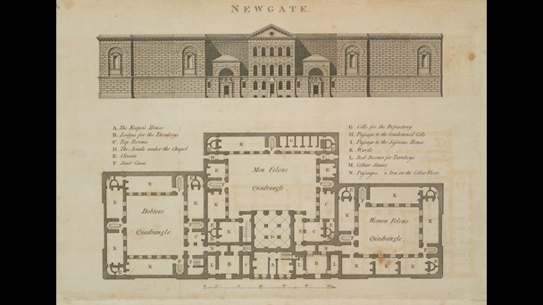Building plan of Newgate Prison [page: 0]