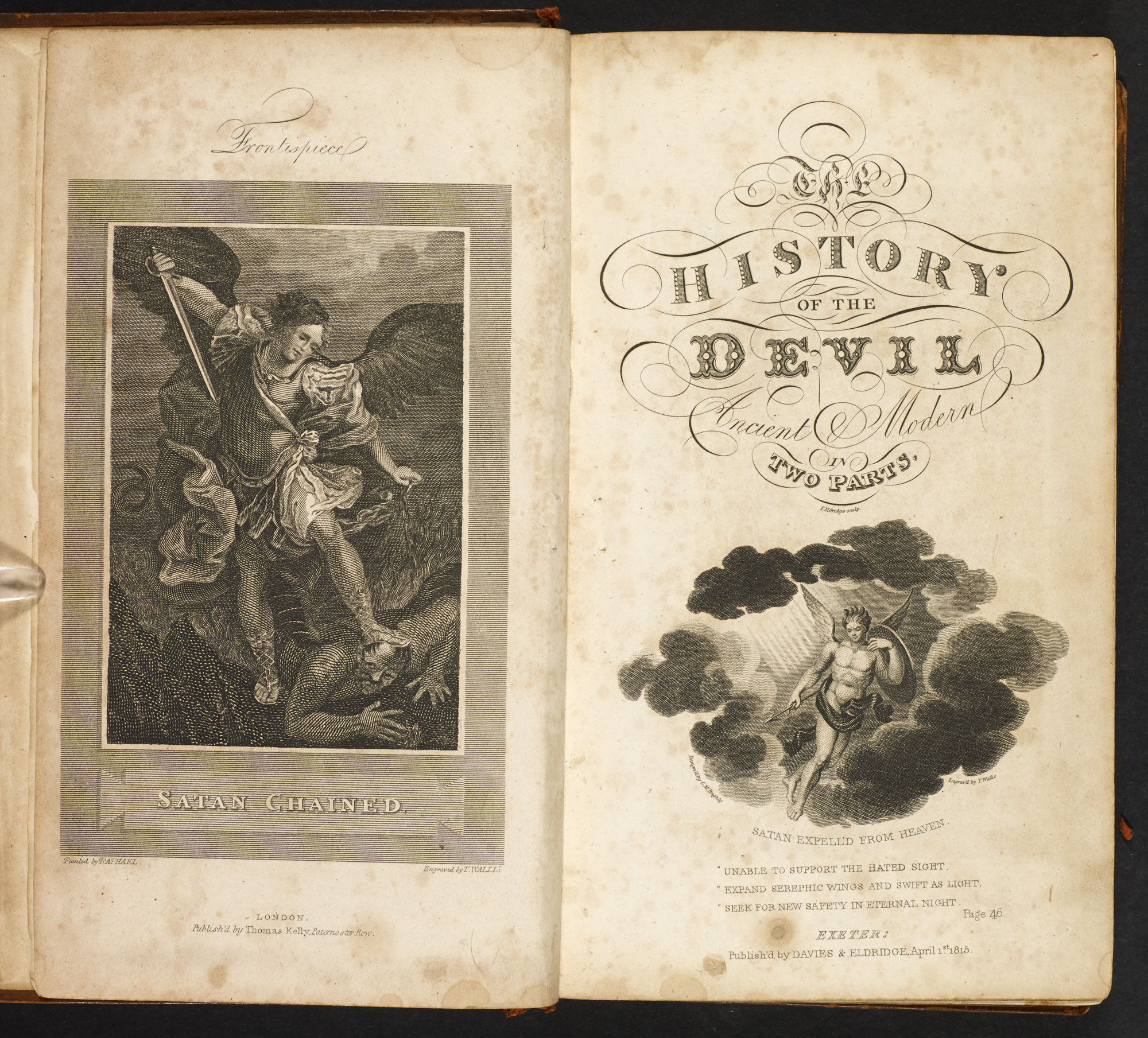 The Political History of the Devil by Daniel Defoe [page: additional frontispiece and title page]