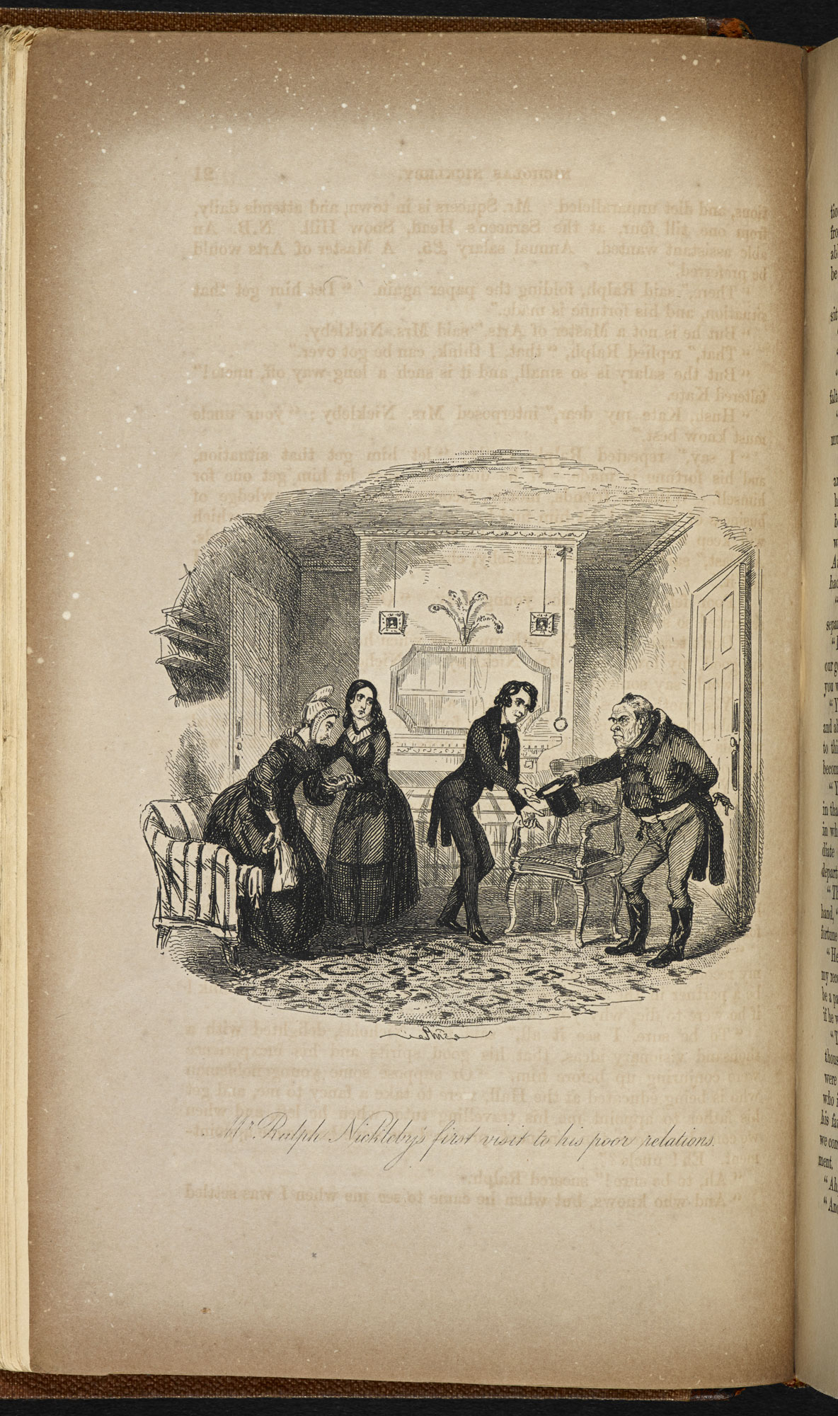 Illustrations to Nicholas Nickleby [page: facing p. 21]