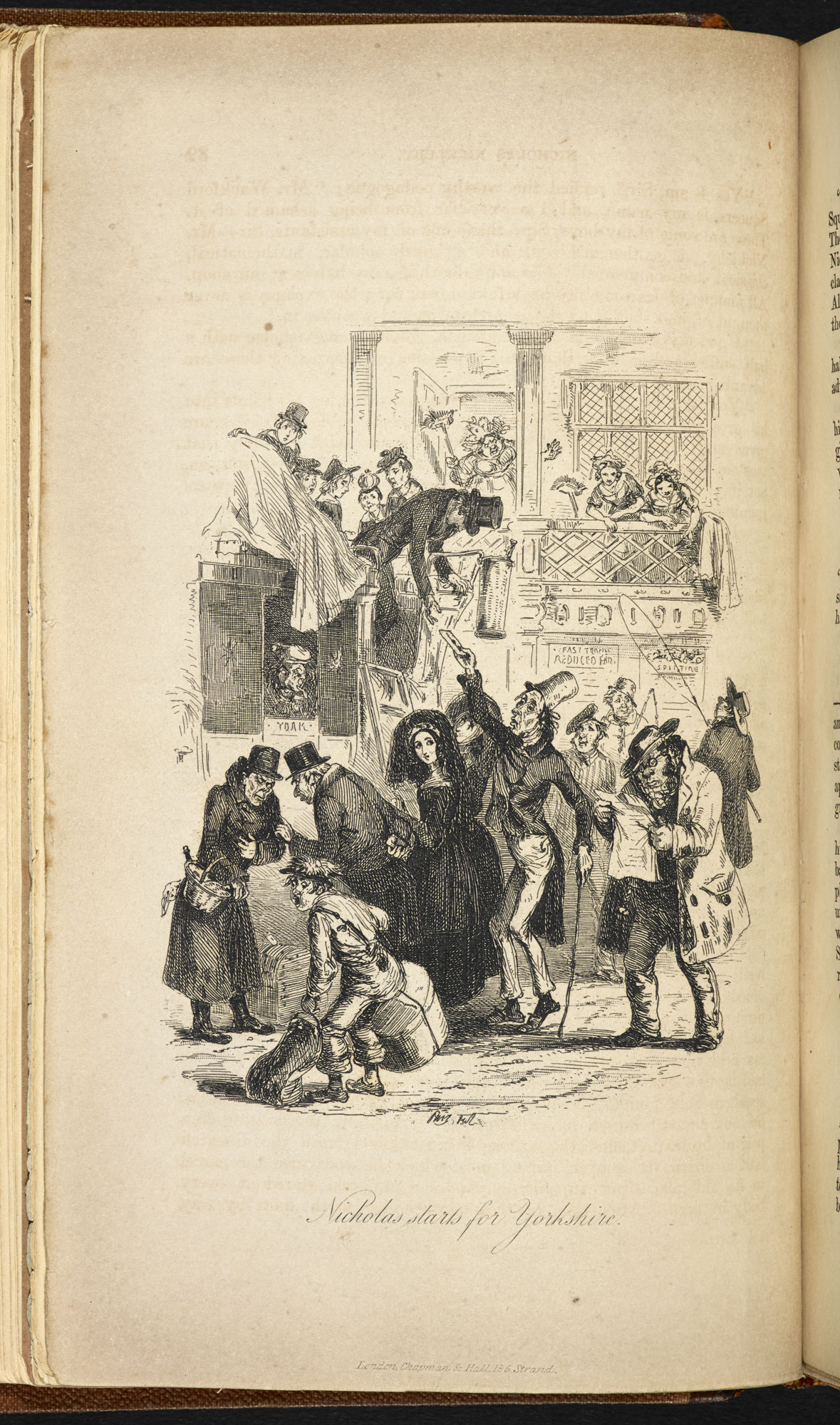 Illustrations to Nicholas Nickleby [page: facing p. 39]