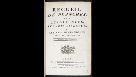 Encyclopedie by Denis Diderot [page: title page]