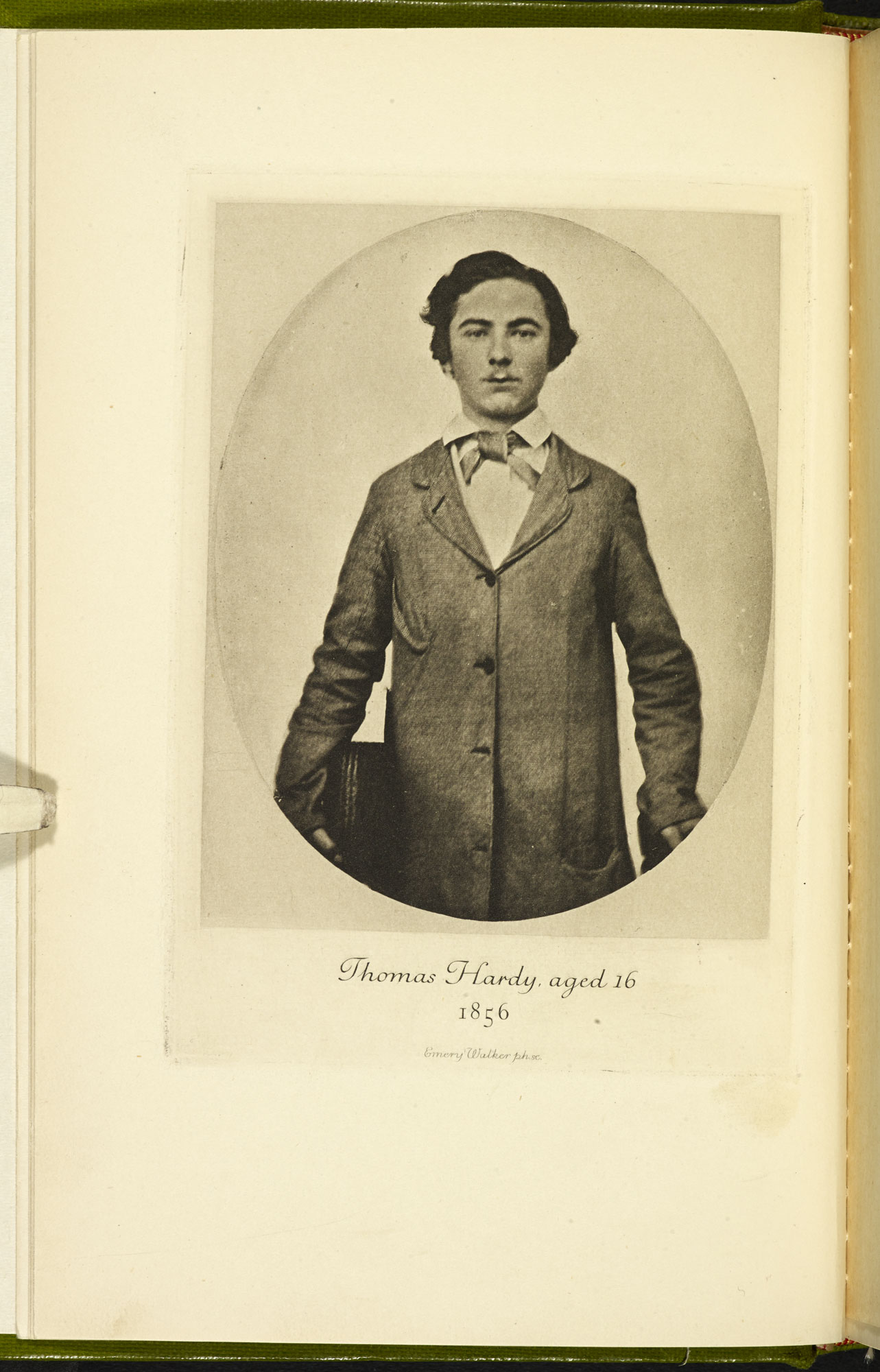 The Early Life of Thomas Hardy [page: frontispiece]