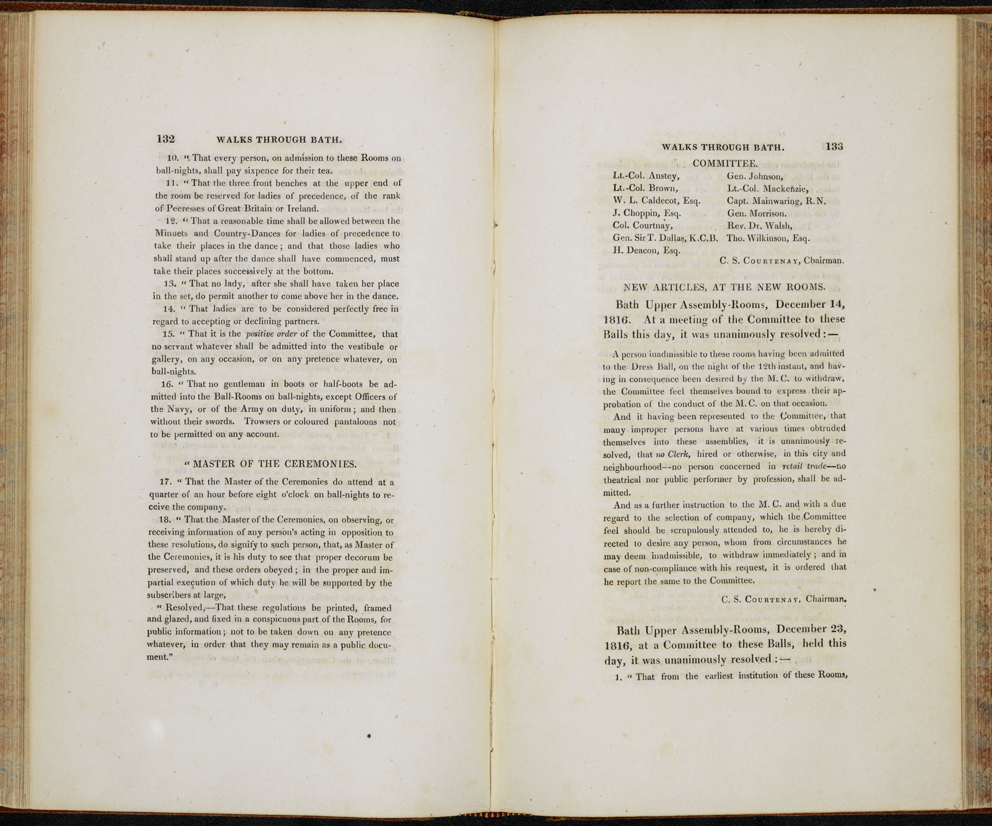 Walks Through Bath [page: 132-33]