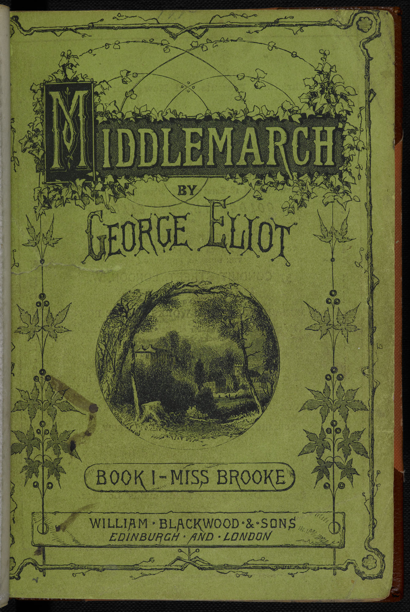 Middlemarch [Book I] [page: title page]