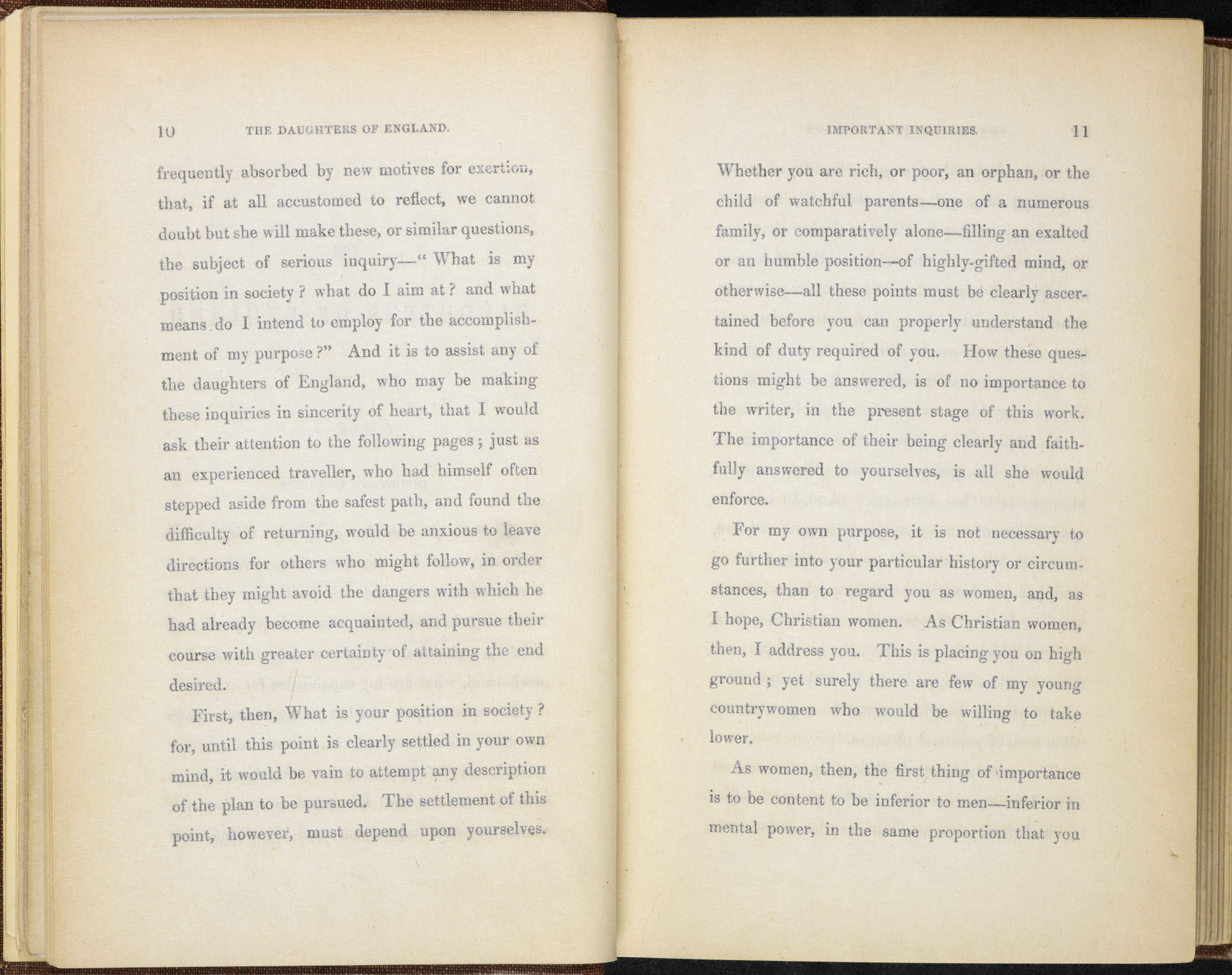 The Daughters of England by Sarah Stickney Ellis [page: 10-11]
