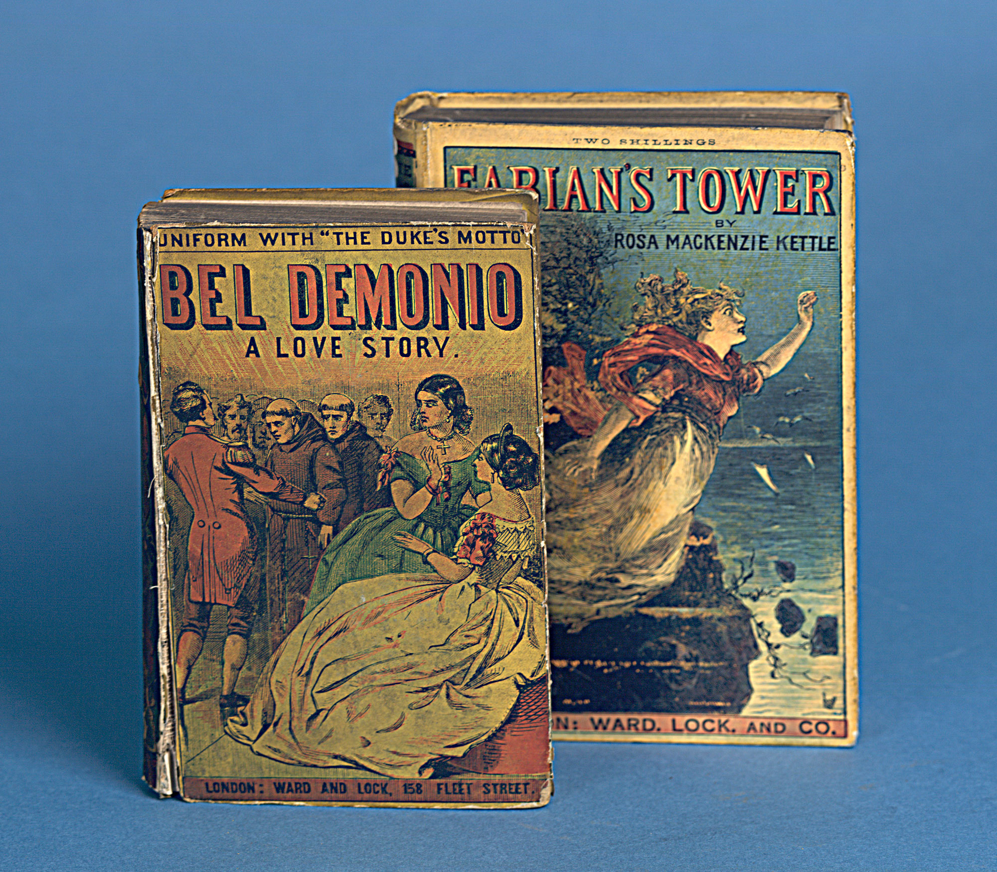 Bel Demonio  and Fabian's Tower [page: front cover]