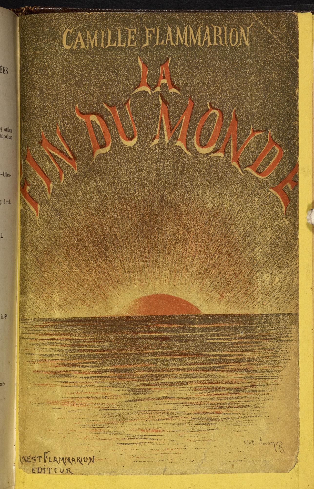 La Fin Du Monde [page: front cover]