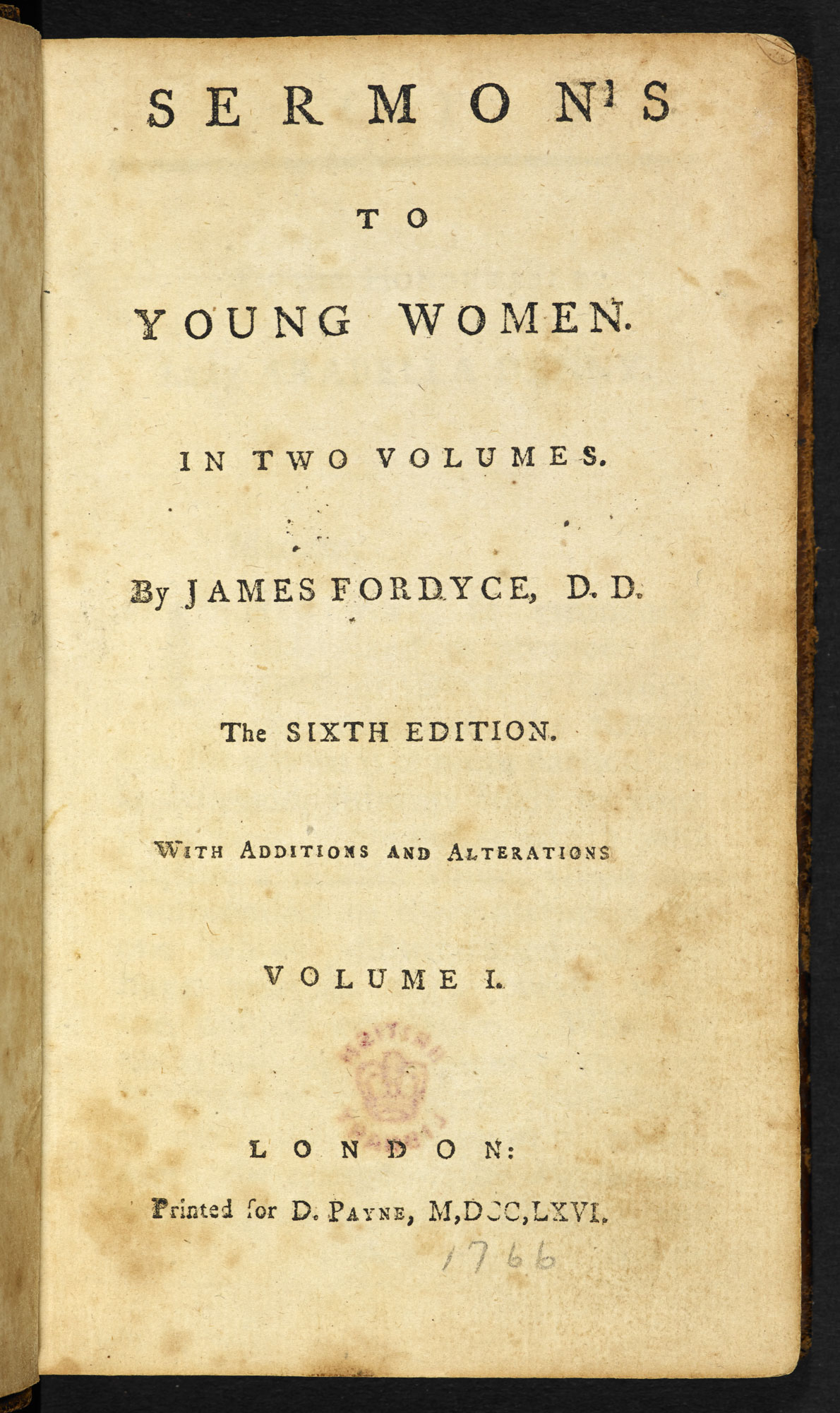 Sermons to Young Women - The British Library