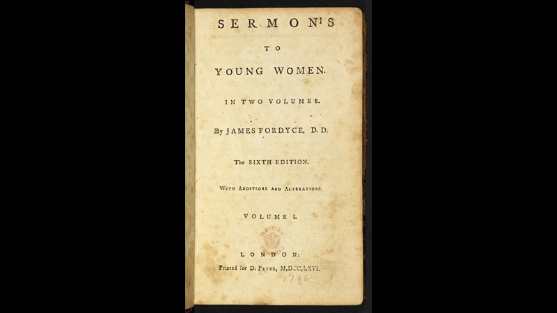 Sermons to Young Women [page: title page]