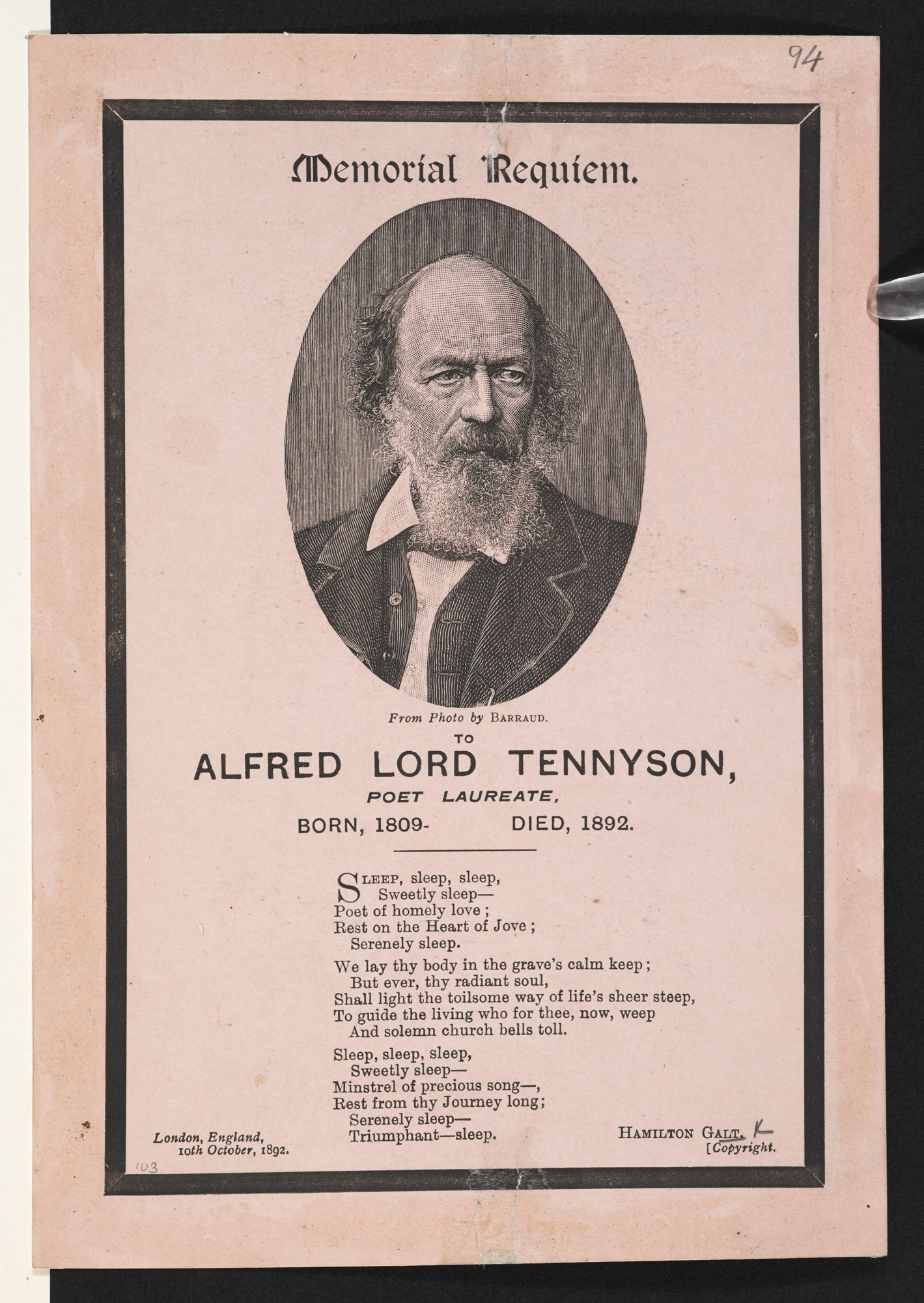 al tennyson